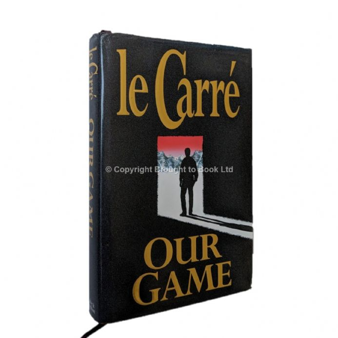 Our Game Signed by John le Carré First Edition Third Impression Hodder & Stoughton 1995